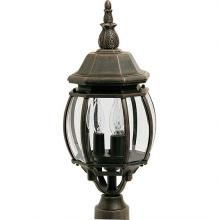 Maxim 1035RP - Crown Hill 3-Light Outdoor Pole/Post Lantern
