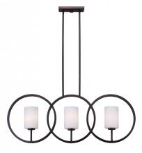 Forte 2628-03-32 - 3 Light Island Pendant