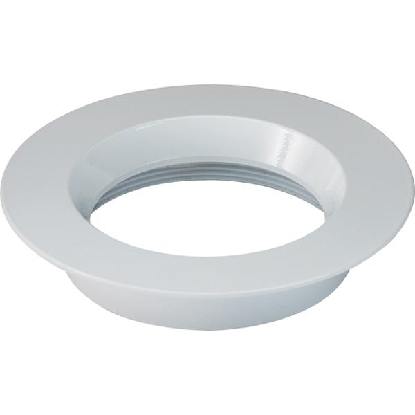 "Freedom Round 4"" Trim Option for 4"" base unit; White finish"