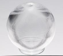 "Satco Products Inc. 50/927 - Clear Prismatic Ball Dia.: 6"" Fitter: 3 1/4"""