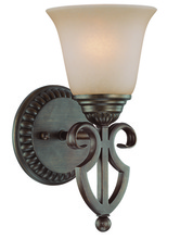 Jeremiah 26001-CB - Gatewick 1 Light Wall Sconce in Century Bronze