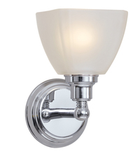 Jeremiah 26601-CH - Bradley 1 Light Wall Sconce in Chrome