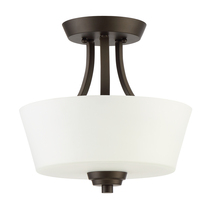 Jeremiah 41952-ESP - Grace 2 Light Convertible Semi Flush in Espresso
