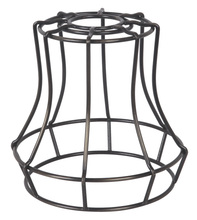 Jeremiah CG110-ABZ - Design-A-Fixture Mini Pendant Cage in Aged Bronze