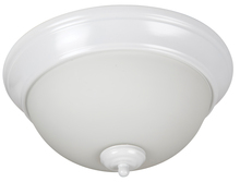 "Jeremiah XP11W-2W - Pro Builder 2 Light 11"" Flushmount in White"
