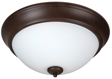 "Jeremiah XP13AG-2W - Pro Builder 2 Light 13"" Flushmount in Aged Bronze Textured"