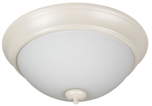 "Jeremiah XP13AW-2W - Pro Builder 2 Light 13"" Flushmount in Antique White"