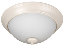 "Jeremiah XP15AW-3W - Pro Builder 3 Light 15"" Flushmount in Antique White"
