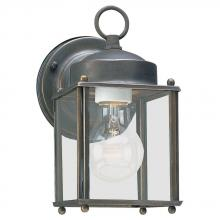 Exterior lighting fixtures the gallery of lights sea gull 8592 71 one light outdoor wall lantern aloadofball Images