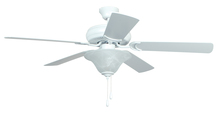 "Ellington Fan DCF52MWW5C1 - Decorator's Choice with Bowl Light Kit 52"" Ceiling Fan with Blades and Light in Matte White"