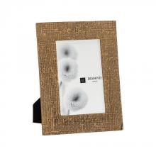 Dimond 8988-019 - Ripple Texture 4x6 Photo Frame In Rose Gold