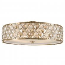 4e52c31ed1e Worldwide Lighting Corp FS411CG24-CM - Paris Collection 6 Light Champagne  Gold Finish with Clear